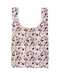 Ladelle Eco Recycled PET Shopping Bag Terrazzo
