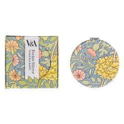 V&A Compact Mirror Double Bough Print by William Morris