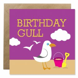 Bold Bunny Birthday Gull