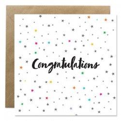Bold Bunny Congratulations Stars