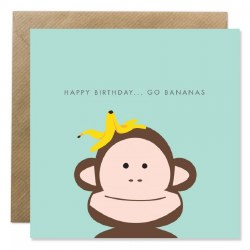 Bold Bunny Go Bananas Birthday
