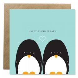 Bold Bunny Penguin Anniversary
