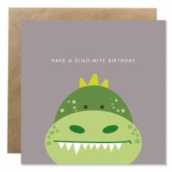 Bold Bunny Dino-Mite Birthday