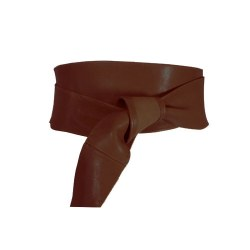 DECK OBI Belt Chocolate