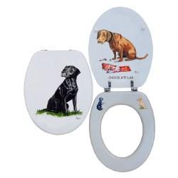 Looprints Smiling Labrador Loo Seat