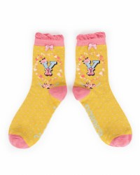 Powder A-Z Socks Y
