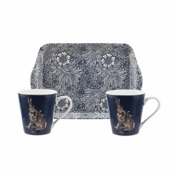 Pimpernel Morris & Co Mug & Tray Set - Forest Hare