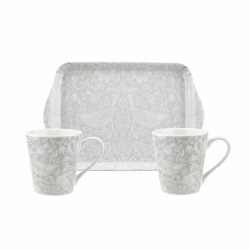 Pimpernel Morris & Co Mug & Tray Set - Pure Morris