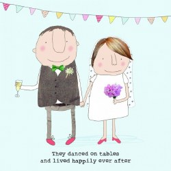 Rosie Made A Thing - They danced on tables and lived happily ever after