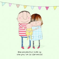 Rosie Made A Thing - How Wonderful Life is now you're in the World