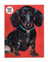 Pooch Double Sided Puzzles Dachshund
