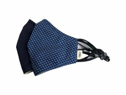 Tilley Face Cover 2 pack Navy / Geo