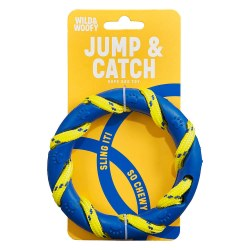 Wild & Woofy Jump & Catch Rope Dog Toy