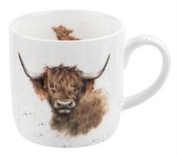 Wrendale China Mug Highland Cow