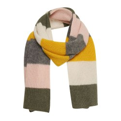 Part Two Itna Stripe Knit Scarf