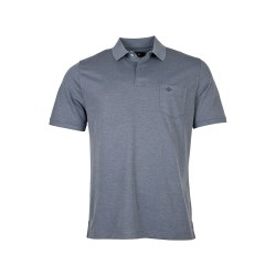 Baileys Mottled Polo Shirt L Dark Blue