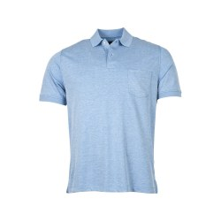 Baileys Mottled Polo Shirt XXL Blue