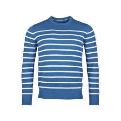 Baileys Stripe Jumper M Blue