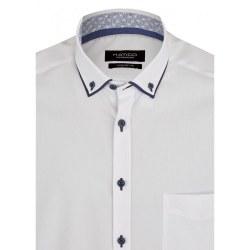 Hatico Double Collar Shirt 46/XXL White