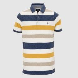 Baileys Multi Stripe Poloshirt L Yellow