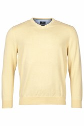 Baileys Cotton V Neck Jumper M Yellow