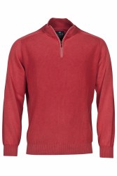 Baileys Plain Quarter Zip Knit