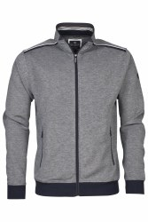 Baileys Melange Full Zip Sweatshirt M Navy