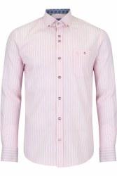 Benetti Danny Stripe Shirt M Pink