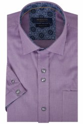 Benetti Rory Short Sleeve Shirt M Lilac