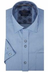 Benetti Rory Short Sleeve Shirt M Sky