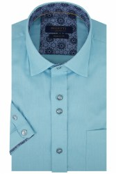 Benetti Rory Short Sleeve Shirt M Teal