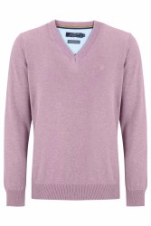 Benetti V Neck Jumper XL Heather
