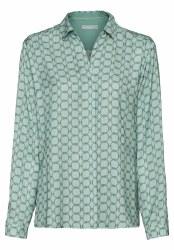 BIanca Ailda Silky Print Shirt 12 Mint