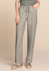 Bianca Linen Trousers 10 Jungle