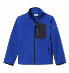 Columbia Fast Trek Full Zip XXS Azul Shark