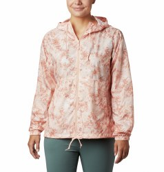 Columbia Flash Forward Windbreaker L Peach Cloud