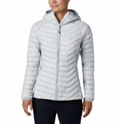 Columbia Powder Pass Hooded Jacket S Cirrus Grey