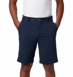 Columbia Tech Trail Shorts 34  Collegiate  Navy