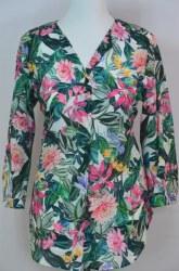 Erfo Tropical Print Shirt 14 Multi