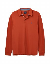 JL Woodwell Polo Top L Red