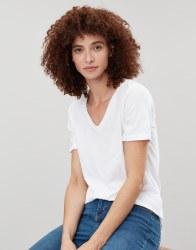 Joules Celina Print T Shirt 12 White
