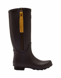 Joules Collette Wellies Dark Brown
