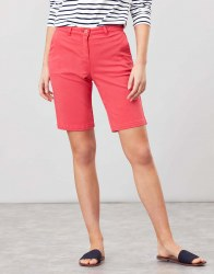 Joules Cruiselong Shorts 18 Poppy