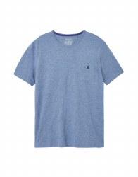 Joules Denton T-shirt M Blue Marl