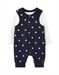 Joules Saylor Suit 3-6m Navy Star