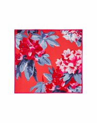 JOules Bloomfield Scarf Red Floral