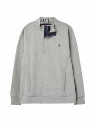 Joules Deckside Sweatshirt XXL Grey Marl