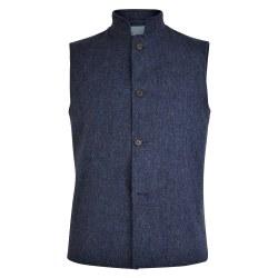 Magee 0054499 Cavan Gilet M Blue Tweed