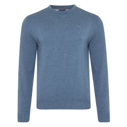 Magee Cotton Crew Jumper XXL Blue