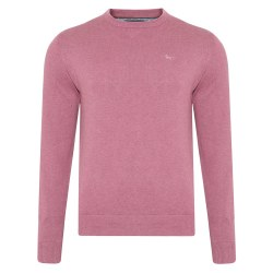 Magee Cotton Crew Jumper M Dusty Pink